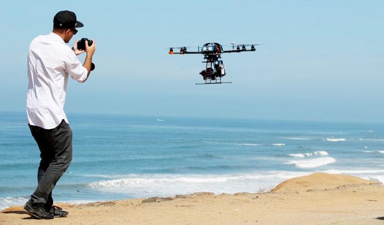 Дроны - перспективная технология для современного кино