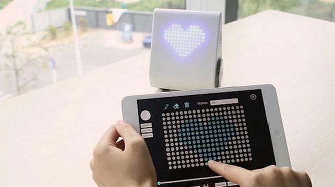 Светодиодным дисплеем можно управлять например с планшета