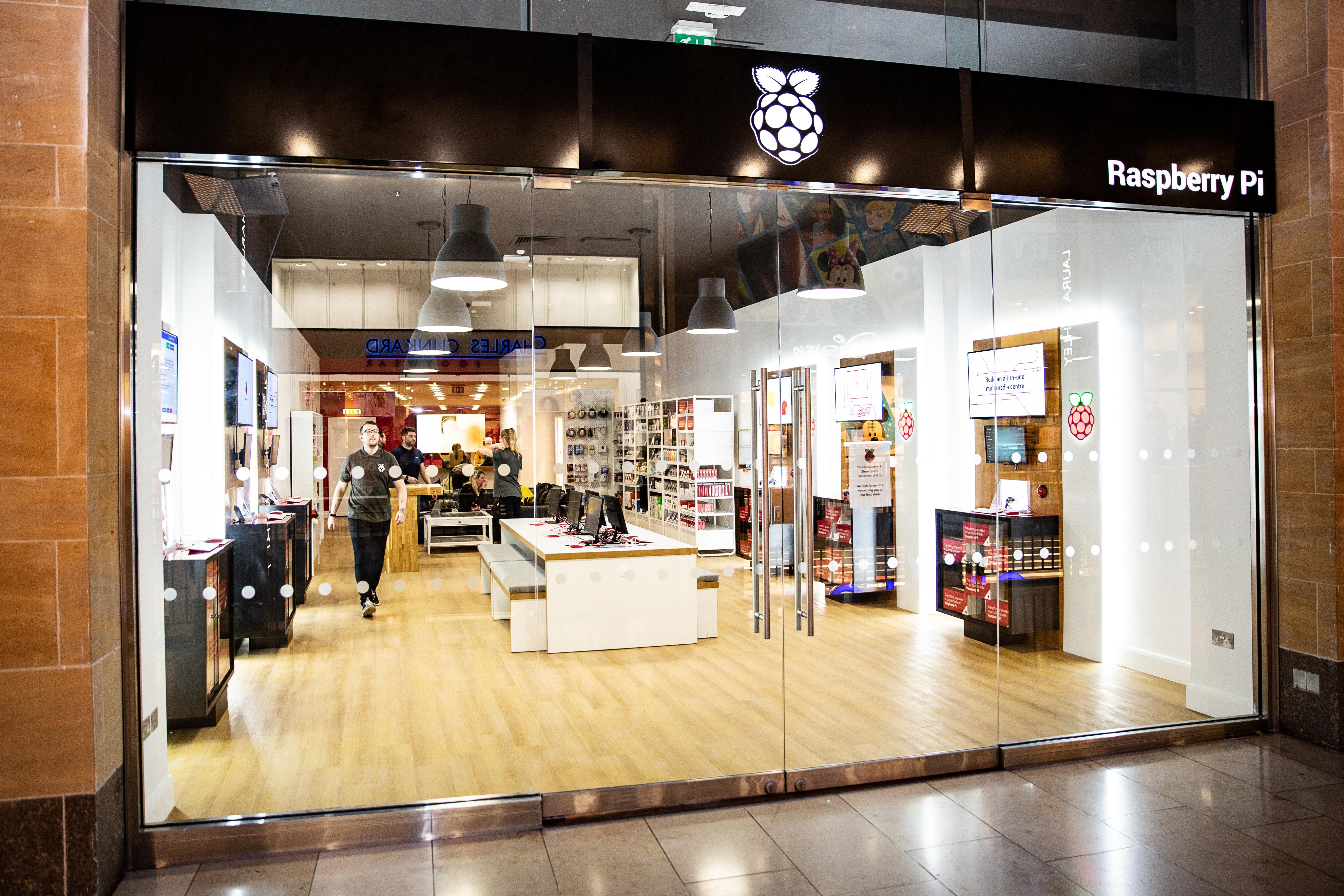 Компания The Raspberry Pi Foundation открыла первый магазин